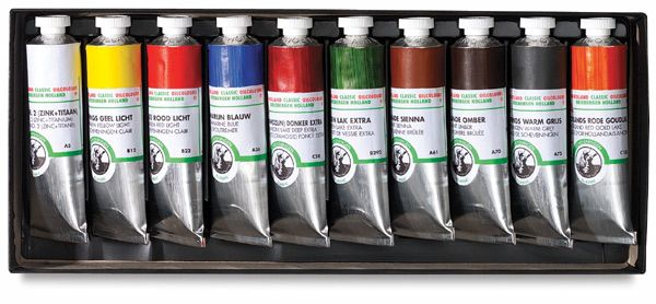 Old Holland Classic Oil Colors Blick Art Materials Painting Accessories Oil Painters Best Oils
