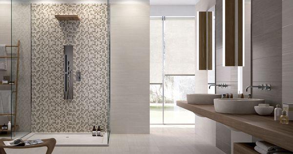 Carrelage fa ence murale en c ramique heritage de cerabati for Carrelage ceramique salle de bain
