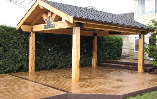 Stand Alone Pergola Designs : Stand alone roof projects to try pinterest picnics