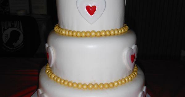 legend of zelda wedding cake   3 tier red velvet w cream cheese frosting covered in mm fondant