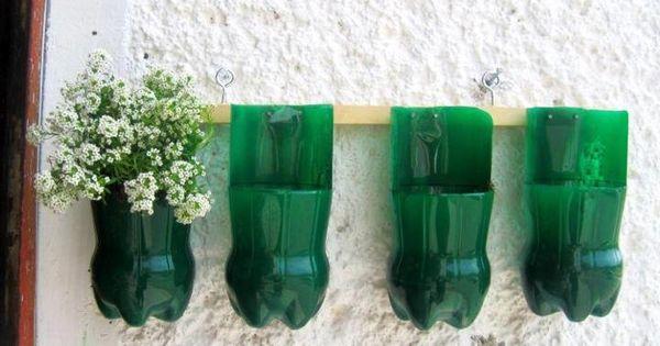 Maceteros de botellas plasticas jardin vertical jardin for Jardin vertical reciclado