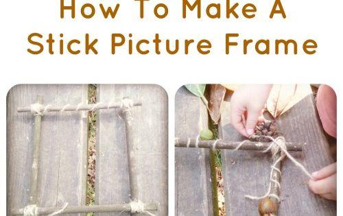 Forest Craft: How To Make A Picture Frame With Sticks MaryAnn Nesbit