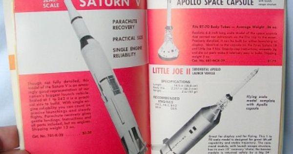 Vintage 1970 Estes Model Rocket Original Sales Catalog 701 Estes Model Rockets Model Rocketry Vintage Models