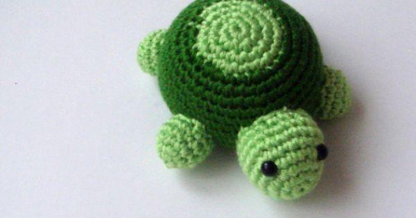 Nursery crochet amigurumi turtle. LOVE crochet animals ...