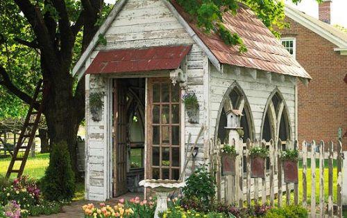 Judy's Cottage Garden Garden Potting Sheds Gardens