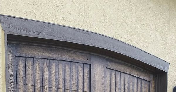 How To Paint Garage Doors To Look Like Wood Metal Garage
