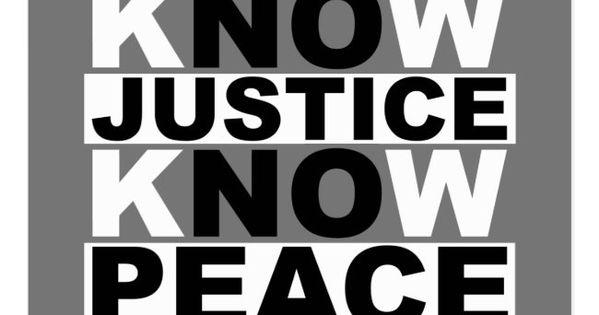 Know Justice Know Peace Postcard Zazzle Com Peace Postcard Justice