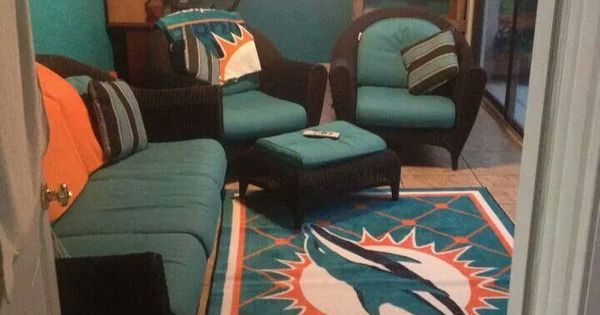 Man Cave War Room : Very own man cave nfl miami dolphins pinterest the o
