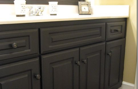 Painted laminate cabinets; tips for painting cabinets
