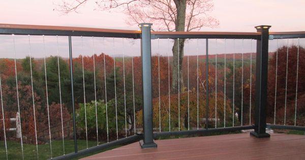 fortress vertical cable railing l dover ma fortress. Black Bedroom Furniture Sets. Home Design Ideas
