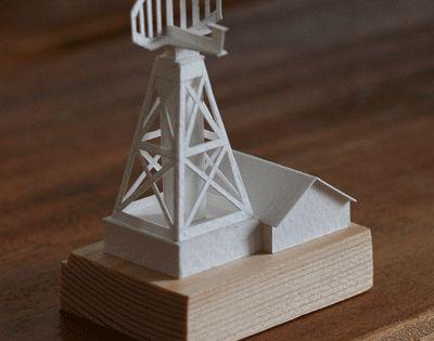 Miniature Paper Architecture That Moves by Charles Young Paper - maquette de maison a construire