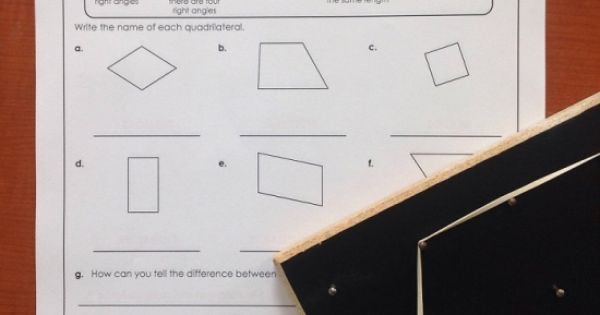 squares and rhombuses and trapezoids oh my stw has great polygon worksheets math super. Black Bedroom Furniture Sets. Home Design Ideas