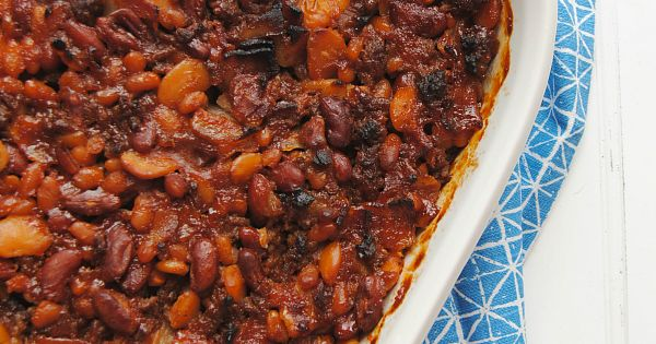 Calico beans, Best baked beans and Baked beans on Pinterest
