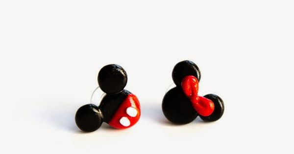 The cutest earrings...perfect for my Disney trip!