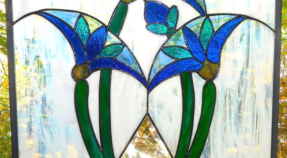 Egyptian Lotus With Pyramid Art Deco Style Art Deco