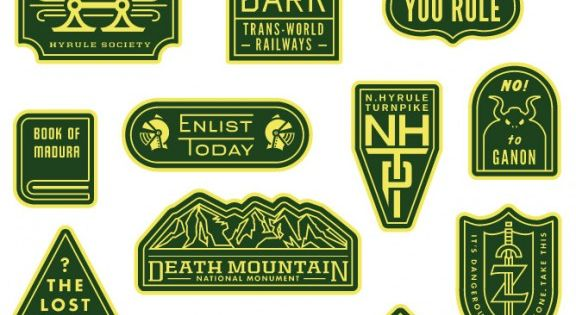 Badges by Dan Cassaro / Young Jerks