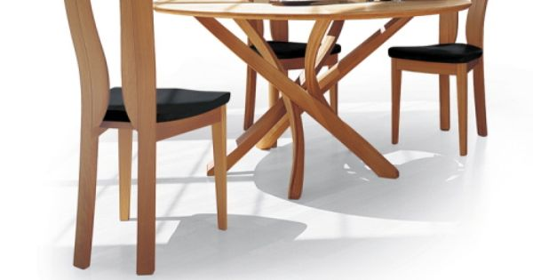the pentagon modern dining table from seltz dining rooms