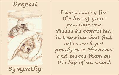 Sympathy dog loss quotes - photo#44