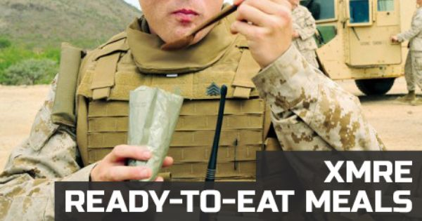 Modern day MRE meals are individually packaged, complete meals that contain all the calories needed to feed one active person. MREs are incredibly compact, lightweight, and durable making them easy to carry and to store.