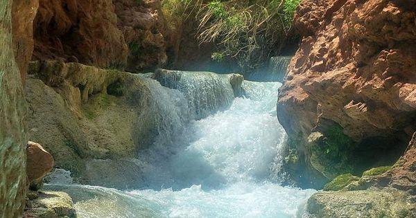 Beaver falls havasupai grand canyon beautiful for Cabine al torrente beaver
