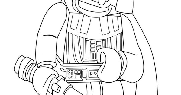 Lego Star Wars Coloring Pages Tucker 39 s Birthday Episode