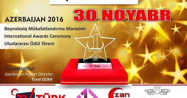 Bakida Number One Mukafatlandirma Mərasimi Keciriləcək Frame Az Awards Ceremony Number One Event