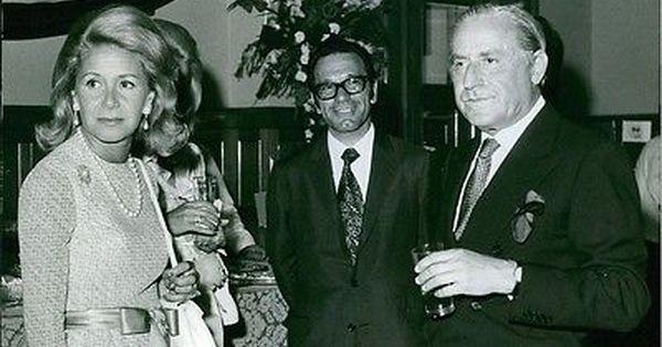 Vintage Photo Of Stavros Spyros Niarchos With His Fourth Wife Athina Livanos In Vintage Photos Rare Photos Vintage