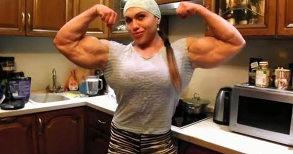 1 Biggest Female Bodybuilder Nataliya Kuznetsova