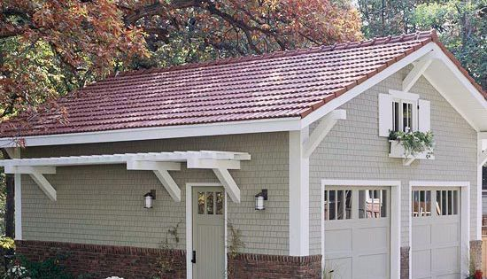 Detached Garage Ideas | Improve the Basic Detached Garage
