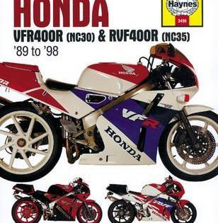 Honda Vfr400 Rvf400r 89 98 Paperback Softback Haynes Publishing Honda Repair Manuals Repair