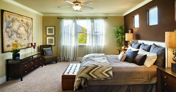 Vantage At Harlan Ranch In Clovis Plan 4 Master Bedroom