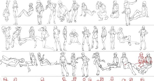 The Best Online Pose Sites to Practice Figure Drawing