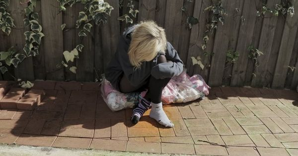 Homeless Women in Socks | The Homeless Girl with the Holey ...