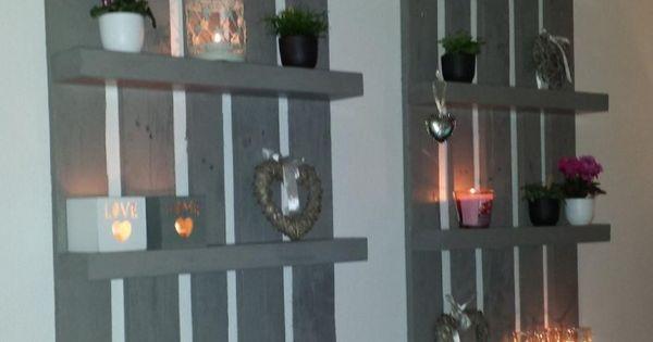 Leuk pallet idee woodsie stuff pinterest decoratie doe het zelf en pallethout - Decoratie binnen veranda ...