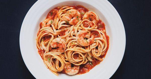 Linguine Shrimp Fra Diavolo | Fish and Seafood | Pinterest | Linguine ...