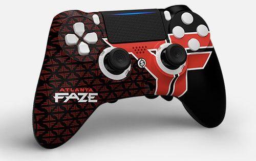 Scuf Impact Atlanta Faze Ps4 Controller Custom Ps4 Controller Gaming Wallpapers Hd