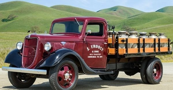 Do You Like Vintage Ford Pickup Trucks Old Pickup Trucks Truck Flatbeds