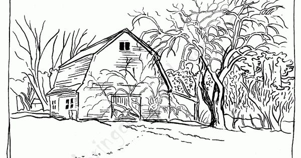 Big Red Barn Coloring Pages Barn Animals Colouring Pages These Are A Few Of My Favorite Things Pinterest Worksheets For Kids Free