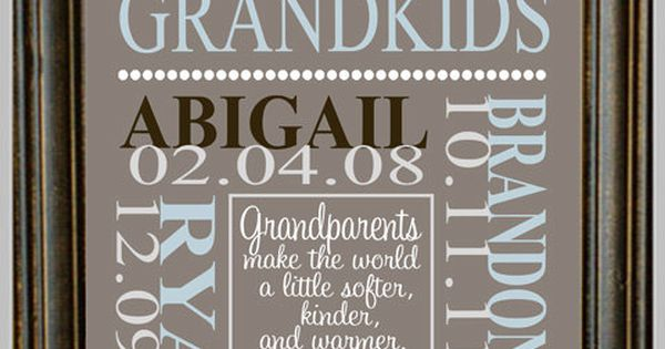 Grandparents Gift, Complete Customiz, Anniversaries Gift, Gift Ideas, Personalized Grandparents, Grandparents Ideas,