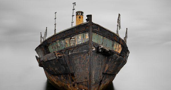 old boat Trevor Cotton - Respect