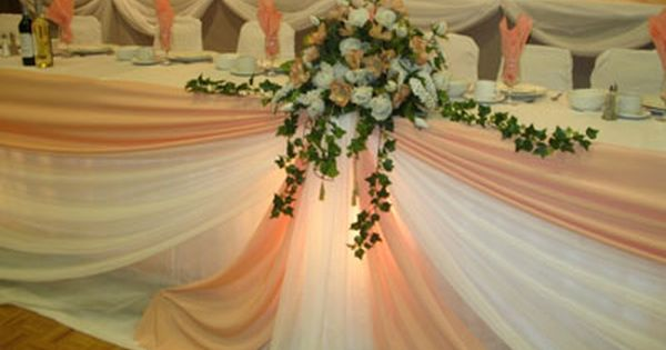 Head Table Decorations Wedding Reception Wedding Dress: Wedding Reception Centerpiece Ideas