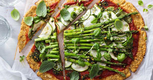 Quick Cauliflower Base Pizza – Kayla Itsines