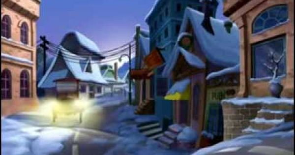 Pixar Le Pere Noel A Faim Dessin Anime Avi Youtube