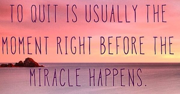 Positive thought, prayer and faith. We need miracles, trials and tribulations are