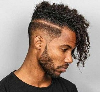 Most Stylish Black Male Hairstyles Drop Fade Haircut Fade Haircut Thick Hair Styles