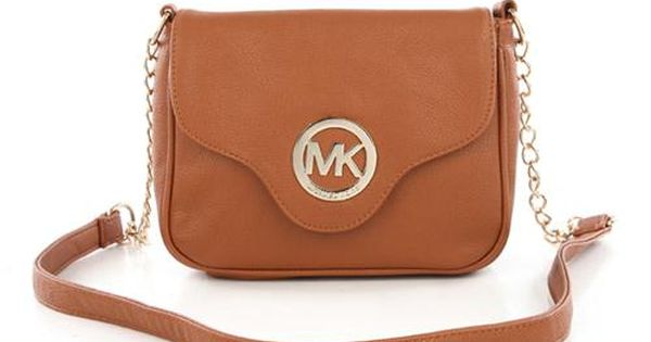 [$65.99] Michael Kors Fulton Pebbled Large Brown Crossbody Bags all-mk-bagsshow.de.tf $61.99 mk