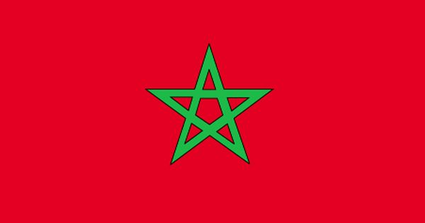 Morocco Flag And Description Morocco Flag Flag Coloring Pages Morocco