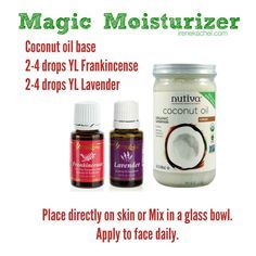 essential oils for face moisturizer