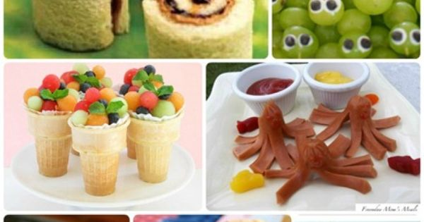 10 Kid-Friendly Foods @ ucreatewithkids.com funfood kidsfood snacks