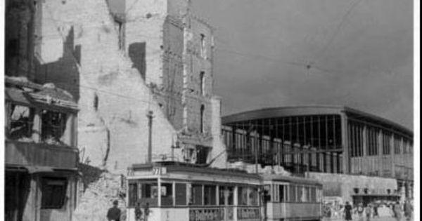 Berlin 1945 Bahnhof Zoo Berlin Strassenbahn Historische Bilder Zoologischer Garten